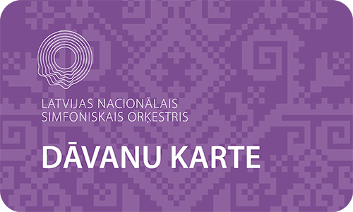 Latvijas Nacionālā Simfoniskā Orķestra dāvanu karte